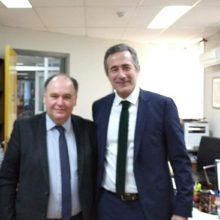 Επίσκεψη του βουλευτή Π.Ε. Κοζάνης Σ. Κωνσταντινίδη στα νοσοκομεία Μαμάτσειο και Μποδοσάκειο και συνάντηση με τους νέους Διοικητές, Στέργιο Γκανάτσιο και Σταύρο Παπασωτηρίου