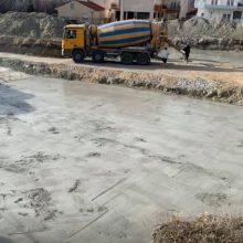 """Ε. Σημανδράκος: """"Πραγματοποιήθηκε σήμερα έγχυση με γκρο μπετό για υπόβαση θεμελίωσης του 10ου νηπιαγωγείου Κοζάνης"""" (Φωτογραφία)"""
