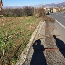 O Δήμαρχος Σερβίων για την κοπή του συρματοπλέγματος στο Δενδροκομικό Σταθμό και την αλλαγή όψη της εισόδου (Φωτογραφίες)