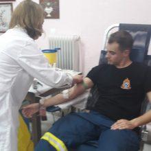 Πτολεμαΐδα: 45 και πλέον Μονάδες Αίματος σε μία εβδομάδα από τη Σχολή Πυροσβεστών