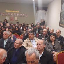 kozan.gr: Πτολεμαίδα: Γεμάτη η αίθουσα του Χριστιανικού – Φιλανθρωπικού Συλλόγου «Καλός Σαμαρείτης», το βράδυ της Κυριακής 2/2, για την ομιλία του Πανοσιολογιoτάτου Αρχιμανδρίτη π. Πορφυρίου Ν. Μπατσαρά Καθοδηγούμενου της Ι.Μ. Τιμίου Προδρόμου Σκήτης Βέροιας (Φωτογραφίες & Βίντεο)