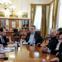 Συνάντηση του δημάρχου Κοζάνης, Λάζαρου Μαλούτα, με τον τομεάρχη Εσωτερικών του ΣΥΡΙΖΑ, Χρήστο Σπίρτζη (Δελτίο τύπου)