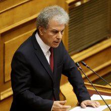 """Ομιλία του κ. Αμανατίδη στην Ολομέλεια της Βουλής των Ελλήνων για το Ν/Σ: """"Εθνικός Μηχανισμός Διαχείρισης Κρίσεων και Αντιμετώπισης Κινδύνων, αναδιάρθρωση της Γενικής Γραμματείας Πολιτικής Προστασίας, αναβάθμιση συστήματος εθελοντισμού πολιτικής προστασίας, αναδιοργάνωση του Πυροσβεστικού Σώματος και άλλες διατάξεις"""", 04-02-2020."""