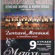 Ο Σύλλογος Φίλων Μουσικής «Βελβεντινές Φωνές» πραγματοποιεί τον ετήσιο χορό του την Κυριακή 9 Φεβρουαρίου