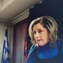 """Α. Τερζοπούλου: """"Εθελοτυφλούν όσοι δεν βλέπουν ότι η ζωή μας με την ΔΕΗ και από την ΔΕΗ με λιγνίτη δεν έχει διάρκεια πολλά χρόνια ακόμη…"""""""