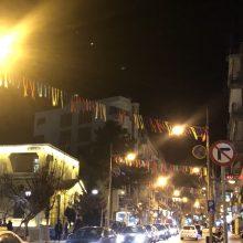 kozan.gr: Σε αποκριάτικους ρυθμούς μπαίνει, σιγά – σιγά, η πόλη της Κοζάνης – Τοποθετήθηκε, στο κέντρο της πόλης, ο αποκριάτικος διάκοσμος