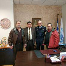 Γραφείο, εντός του Αστυνομικού Μεγάρου Κοζάνης, παραχωρήθηκε στο  Σύλλογο Αποστράτων Σωμάτων Ασφαλείας Κοζάνης