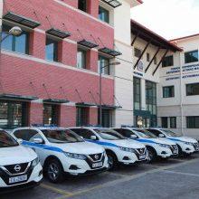 Ευχαριστήριο της Ένωσης Αστυνομικών Υπαλλήλων Κοζάνης για την παραλαβή των πρώτων έξι (6) νέων περιπολικών οχημάτων