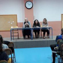 Ευχαριστήριο του 4ου Γυμνασίου Κοζάνης προς τον κ. Κώστα  Ντίνα, καθηγητή  Γλωσσολογίας του πανεπιστημίου  Δυτικής Μακεδονίας