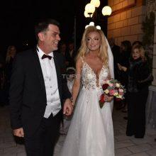 Ανδρέας Πάτσης – Βασιλική Παπαλουκά: Ο βουλευτής Γρεβενών και η παρουσιάστρια παντρεύτηκαν του Αγίου Βαλεντίνου (Φωτογραφίες)