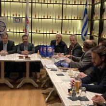 Για τις δραστηριότητες και την κατάσταση του Πανεπιστημίου Δυτικής Μακεδονίας ενημερώθηκαν μέλη και φίλοι της ΑΧΕΠΑ
