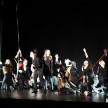 "kozan.gr: Η θεατρική ομάδα ""Ταξιδευτές του θεάτρου"" παρουσίασε, το βράδυ της Κυριακής 16 Φεβρουαρίου, στην Αίθουσα Τέχνης Κοζάνης, την παράσταση «ΑΣΚΗΤΙΚΗ» Ν. Καζαντζάκη (Φωτογραφίες & Βίντεο)"