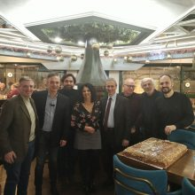 Την πρωτοχρονιάτικη πίτα έκοψε, στην Πτολεμαΐδα, ο Σύλλογος Διπλωματούχων Μηχανικών Ομίλου ΔΕΗ (Τοπική Επιτροπή Δυτ. Μακεδονίας)