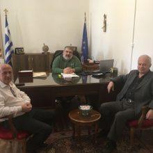 Το Προεδρείο του Σωματείου Συνταξιούχων ΔΕΗ συναντήθηκεμε το Δήμαρχο Εορδαίας
