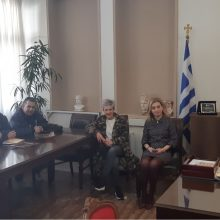 Συνάντηση Δημάρχου Εορδαίας Παναγιώτη Πλακεντά με το Δ.Σ. του Εμπορικού Συλλόγου Πτολεμαΐδας.