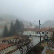 kozan.gr: Ώρα 11.30 π.μ. : Ασθενής χιονόπτωση στη Βλάστη (Βίντεο)
