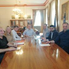 Mε το Δήμαρχο Κοζάνης Λ. Μαλούτα συναντήθηκε η Δ.Ε. του ΤΕΕ/ΤΔΜ