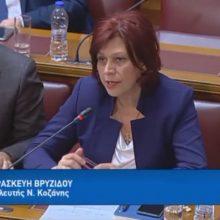 Ομιλία Π. Βρυζίδου Βουλευτή Ν. Κοζάνης ΝΔ για το νέο Ασφαλιστικό στη Διαρκή Επιτροπή Κοινωνικών Υποθέσεων και τη Διαρκή Επιτροπή Οικονομικών Υποθέσεων σε κοινή συνεδρίαση (Bίντεο)
