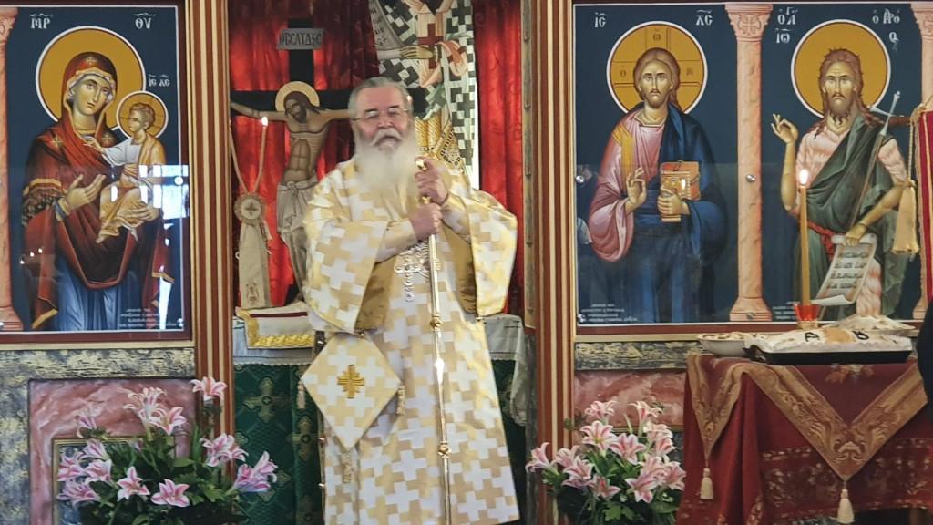 Με Αρχιερατική Θεία Λειτουργία και τη συμμετοχή πολλών πιστών πανηγύρισε  το Ιερό Μητροπολιτικό Παρεκκλήσι του Αγίου Βαραδάτου του Κουβουκλιώτη,  του εξ Αντιοχείας, της Ιεράς Μητροπόλεως Σερβίων και Κοζάνης (του παπαδάσκαλου Κωνσταντίνου Ι. Κώστα)