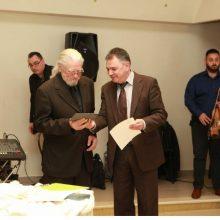Την Κυριακή 23/02/2020 πραγματοποιήθηκε ο ετήσιος χορός του Συλλόγου Γρεβενιωτών Κοζάνης, στον οποίο βραβεύτηκε ο κύριος Αγαμέμνων Δ. Πιτένης