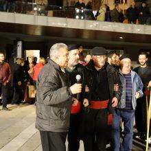 kozan.gr: Eμφάνιση Φανού Αριστοτέλη και φιλοξενούμενου πολιτιστικού Συλλόγου «Μαρκίδες Πούλιου», το βράδυ της Τετάρτης 26/2, στην κεντρική πλατεία Κοζάνης(40 Φωτογραφίες & 16′ βίντεο σε HD ποιότητα)