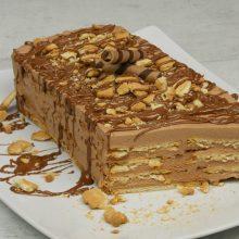 To Foodaholics.gr  προτείνει  μπισκοτογλυκό πραλίνα με 4 υλικά