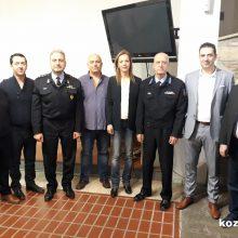 Πραγματοποιήθηκε το πρωί της Παρασκευής 28/2  στο Λαογραφικό Μουσείο Κοζάνης η κοπή πίτας της Περιφερειακής Πυροσβεστικής Διοίκησης Δ. Μακεδονίας