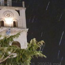 kozan.gr: Ώρα 20:05: Ασθενής χιονόπτωση στην Κοζάνη (Bίντεο)