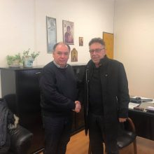 Συνάντηση είχε, την Παρασκευή 28 Φεβρουαρίου, ο Πρόεδρος και το ΔΣ του Εργατοϋπαλληλικού Κέντρου Πτολεμαΐδας με τον Διοικητή του Μποδοσάκειου Γενικού Νοσοκομείου Πτολεμαΐδας Σταύρο Παπασωτηρίου