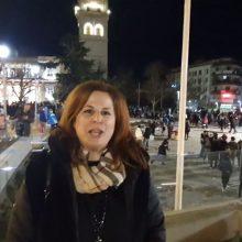 Kozan.gr: Ώρα 19:40: Η Αντιδήμαρχος Πολιτισμού του Δήμου Κοζάνης  Ελπίδα  Κοϋμτζίδου σχολιάζει τη μεγάλη προσέλευση του κόσμου στην πόλη, παρά την  ΚΥΑ για απαγόρευση των αποκριάτικων εκδηλώσεων σ' όλη τη χώρα (Βίντεο