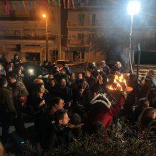 Kozan.gr: Ώρα 20:05: Aναψε ο Φανός Πηγάδι από του Κεραμαργιο