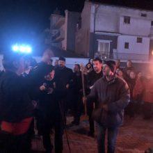 Kozan.gr: Ώρα 22:20: Άναψε ο Φανός Λάκκους  τ'  Μάγγαν (Βίντεο)
