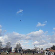 kozan.gr: Ώρα 11:00 π.μ.: Σημερινές εικόνες από το Πάρκο Εκτάκτων Αναγκών στην Πτολεμαΐδα με τους χαρταετούς στον ουρανό (Φωτογραφίες & Βίντεο)