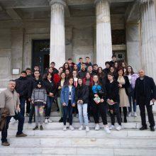 Τους μαθητές του 1ου Γυμνασίου Κοζάνης υποδέχθηκε, στη Βουλή, η Βουλευτής Ν. Κοζάνης Παρασκευή Βρυζίδου
