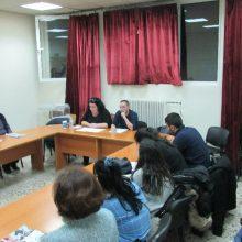 kozan.gr: Κοζάνη: Εκδήλωση, με θέμα το ασφαλιστικό κι οι ελαστικές μορφές εργασίας στις γυναίκες, διοργανώθηκε το απόγευμα της Τετάρτης 4/3, με αφορμή την παγκόσμια μέρα της γυναίκας (Βίντεο & Φωτογραφίες)