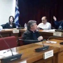 """kozan.gr: Σ. Κοκκινίδης σε Α. Τερζοπούλου: """"Μην μου υψώνετε τη φωνή. Δεν θα με κάνετε ντα"""" (Βίντεο)"""