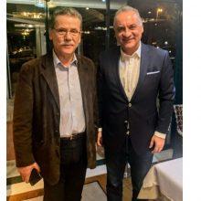 Συνάντηση του δημάρχου Κοζάνης, Λάζαρου Μαλούτα, με τον ευρωβουλευτή Μανώλη Κεφαλογιάννη –    «Λ. Μαλούτας: «Από τα κριτήρια διαμοιρασμού των κονδυλίων [του Ταμείου Δίκαιης Μετάβασης] απουσιάζει ο βαθμός εξάρτησης των τοπικών κοινωνιών από τη λιγνιτική δραστηριότητα»