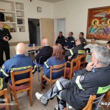 Ενημερωτική ομιλία πραγματοποιήθηκε σήμερα 11/3 στις εγκαταστάσεις της Πυροσβεστικής Υπηρεσίας Κοζάνης, σχετικά με οδηγίες – μέτρα προφύλαξης του πυροσβεστικού προσωπικού από τον νέο κοροναϊό (2019-nCov)