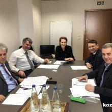 Γ. Αμανατίδης: Άκρως παραγωγικές συναντήσεις με τη Γενική Γραμματέα Ενέργειας & Ορυκτών Πρώτων Υλών κα. Σδούκου Αλεξάνδρα και τους συνεργάτες της