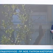 kozan.gr: Η σημερινή (14/3) πρωινή τηλεφωνική σύνδεση του ΑΝΤ1 με την Καστοριά και τον Πρόεδρο του Ιατρικού Συλλόγου Καστοριάς Λάζαρο Παπαδόπουλο, με όλες τις τελευταίες εξελίξεις στο μέτωπο του κορωνοϊού