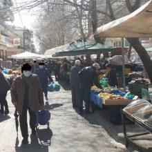 Φωτογραφίες από τη Λαϊκή αγορά της Κοζάνης, σήμερα Σάββατο 14 Μαρτίου – Αρκετός κόσμος με και χωρίς μάσκες