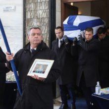 Φίλιππος Πετσάλνικος: Φίλοι, συγγενείς και πολιτικοί είπαν το τελευταίο «αντίο» στον πρώην πρόεδρο της Βουλής