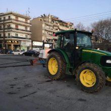 kozan.gr: Απολύμανση στο χώρο διεξαγωγής της λαϊκής αγοράς στην Πτολεμαίδα, πραγματοποιήθηκε το απόγευμα της Τρίτης 17/3  (Φωτογραφίες)