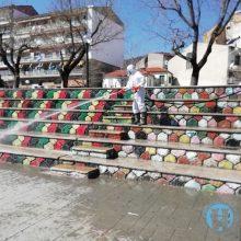 Προληπτικές απολυμάνσεις κτηρίων και χώρων από τον Δήμο Φλώρινας