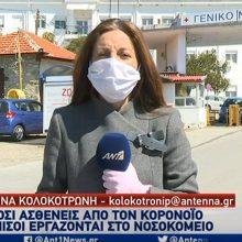 kozan.gr: Η ζωντανή σύνδεση, πριν από λίγο (13:00), του ΑΝΤ1 με την Καστοριά και τα τελευταία νέα με τις εξελίξεις με τον κορωνοϊό (Βίντεο)