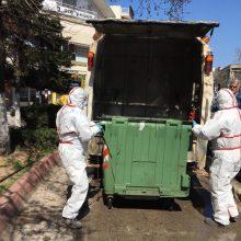 Τον καθαρισμό και το πλύσιμο των κάδων απορριμμάτων ξεκίνησε με ειδικό όχημα ο Δήμος Εορδαίας (Βίντεο & Φωτογραφίες)