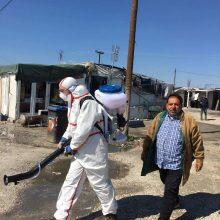 kozan.gr: Με πρωτοβουλία του Δήμου Εορδαίας προληπτικοί ψεκασμοί απολύμανσης και στον καταυλισμό των Ρομά στην Πτολεμαίδα (Φωτογραφίες)