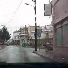 "kozan.gr: Ώρα 09.20: Σημερινές (23/3) εικόνες από την ""κίνηση"" στην πόλη της Κοζάνης  (Βίντεο αναγνώστη)"