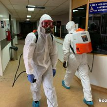 Απολυμάνθηκαν χώροι του Μποδοσάκειου Νοσοκομείου Πτολεμαΐδας (Φωτογραφίες)