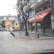 kozan.gr: Ώρα 18.00μ.μ.:  Βίντεο αναγνώστη από τους άδειους, από κόσμο κι αυτοκίνητα, δρόμους της Κοζάνης